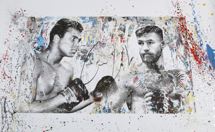 Muhammad Ali and Conor McGregor