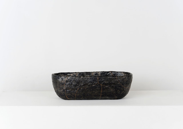 , 'Smolder - Fired Earthenware Bowl, Cracked and Mended,' 2015, Volume Gallery