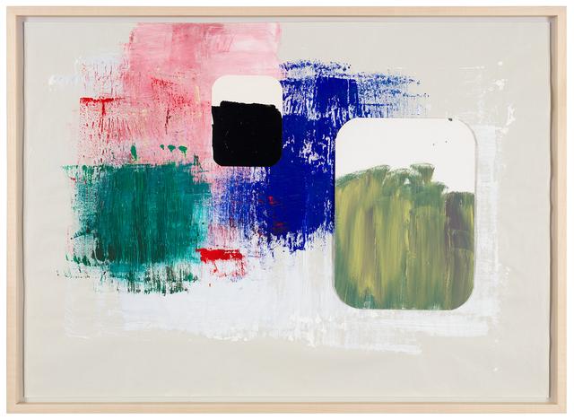 , 'Brossage moderniste -série journal abstrait (3),' 2017, Galerie nächst St. Stephan Rosemarie Schwarzwälder