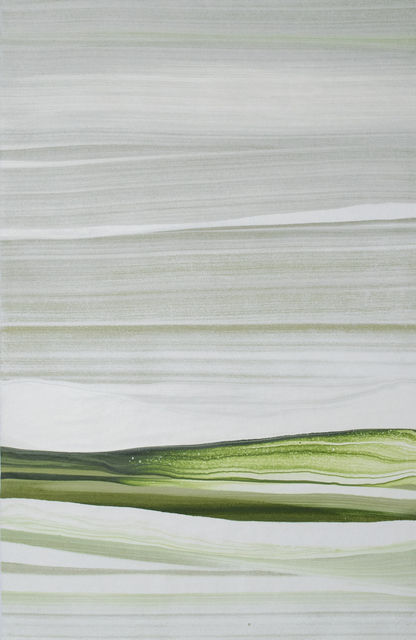 , 'In White VIII,' 2014, Galería La Caja Negra