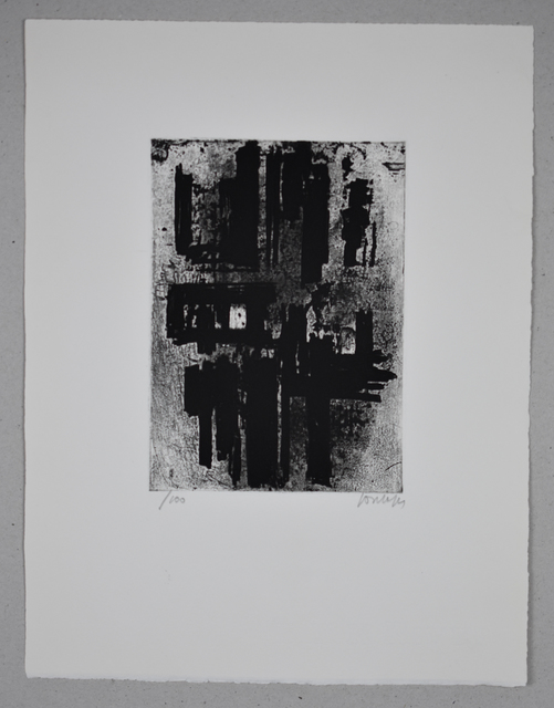 Pierre Soulages, 'Eau-forte n°IV', 1957, Galerie Brugier-Rigail