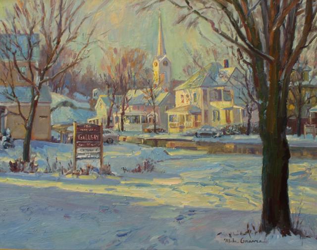 , 'Morning Sunlight in Jefferson, VT,' 2019, The Guild of Boston Artists