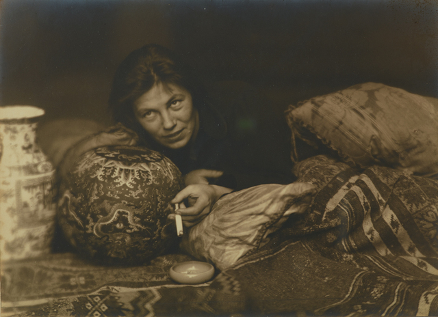 , 'Portrait of Germaine Krull, Berlin,' 1922, Jeu de Paume