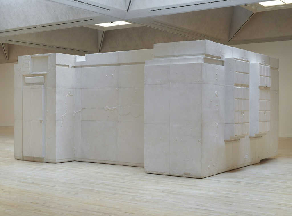 Rachel Whiteread, Untitled (Room 101), 2003. Plaster, wood and metal. © Rachel Whiteread. 