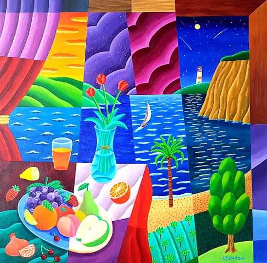 Philip Stanton, 'Mediterranian night', 2019, GALERIA JORDI BARNADAS