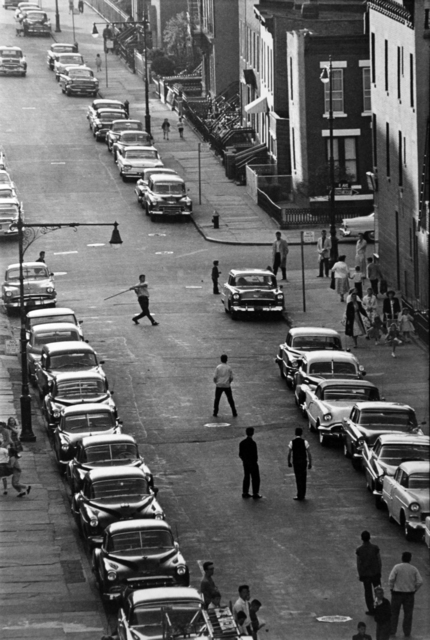 , 'Stickball, Brooklyn, NYC ,' 1959, Etherton Gallery