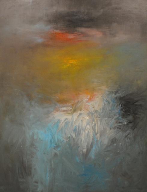 MD Tokon, 'River to Mountain', 2015, Painting, Acrylic on Canvas, Isabella Garrucho Fine Art