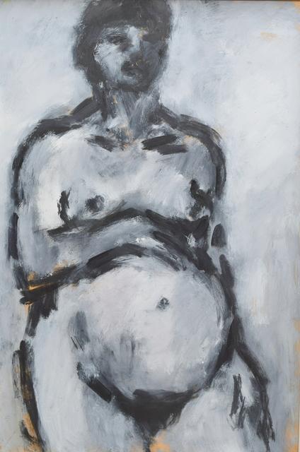 , 'Pregnant Self Portrait,' 1987, Gateway Gallery