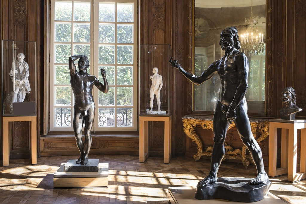 Musée Rodin 2015, Auguste Rodin, L'âge d'airain et Saint Jean-Baptiste © agence photographique du Musée Rodin, J. Manoukian