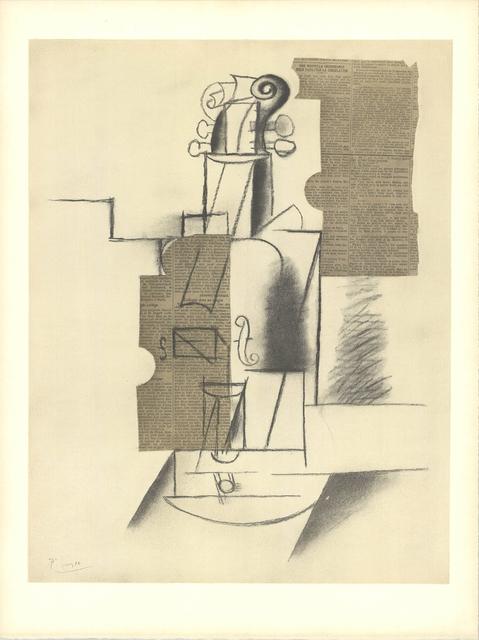 Pablo Picasso, 'Violin', (Date unknown), ArtWise