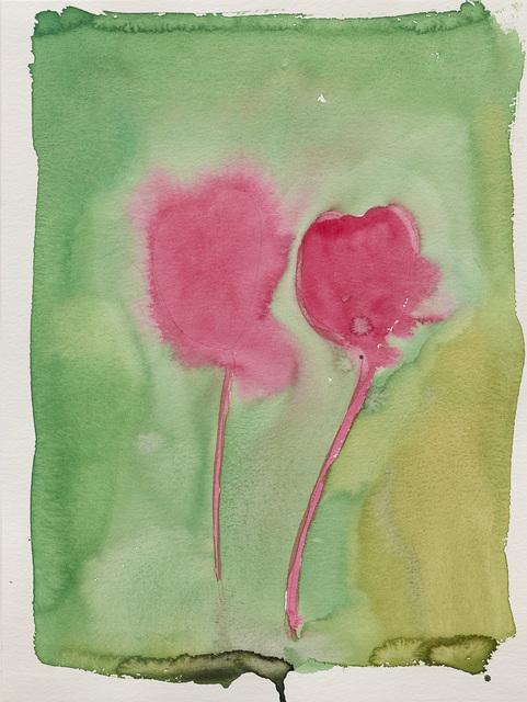 Thomas Schütte, 'Two Tulips', 1992, Carolina Nitsch Contemporary Art