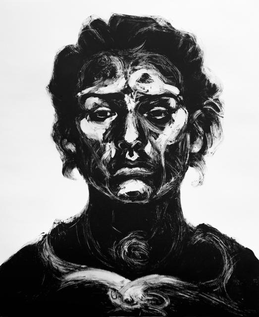 Alison Lambert, 'Indira', 2017, Print, Monotype, Pratt Contemporary