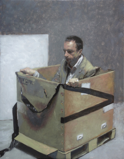 , 'Man in the box,' 2017, Galeria Contrast