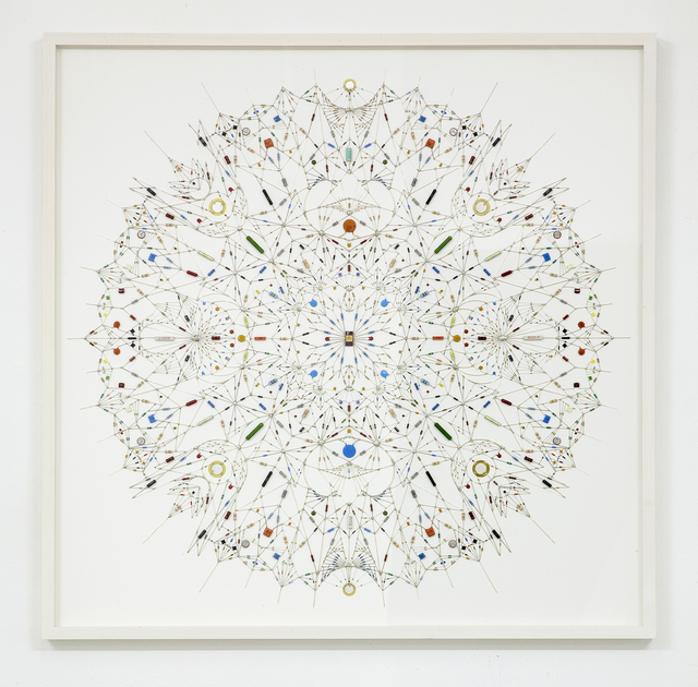 , 'Technological mandala 31,' 2014, The Flat - Massimo Carasi