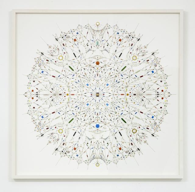 , 'Technological mandala 31,' 2014, The Flat - Massimo Carasi