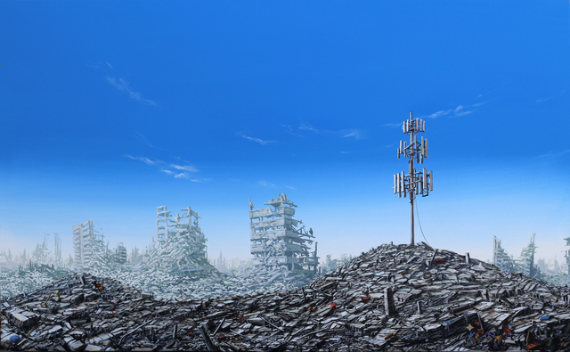 , 'Relay Tower Ruins,' 2017, Gregorio Escalante Gallery