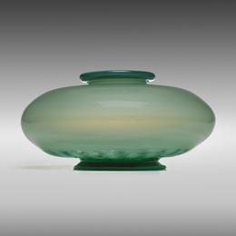Unique Opalino vase, model 3089