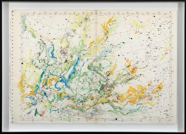 , 'Exploring 1950 Celestial Maps IV ,' 2017, Barnard