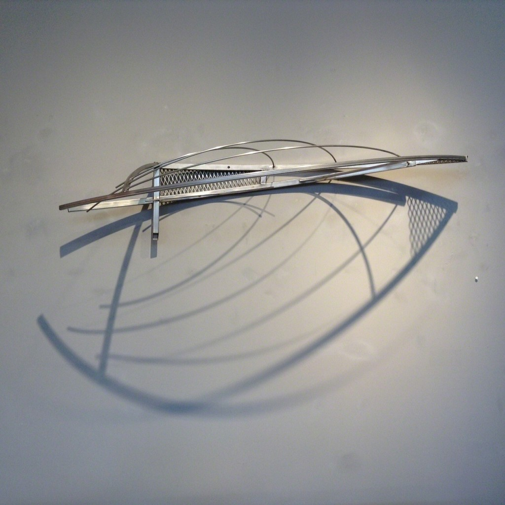 "Bob Emser ""Life on a Wing"", 2009 stainless steel"