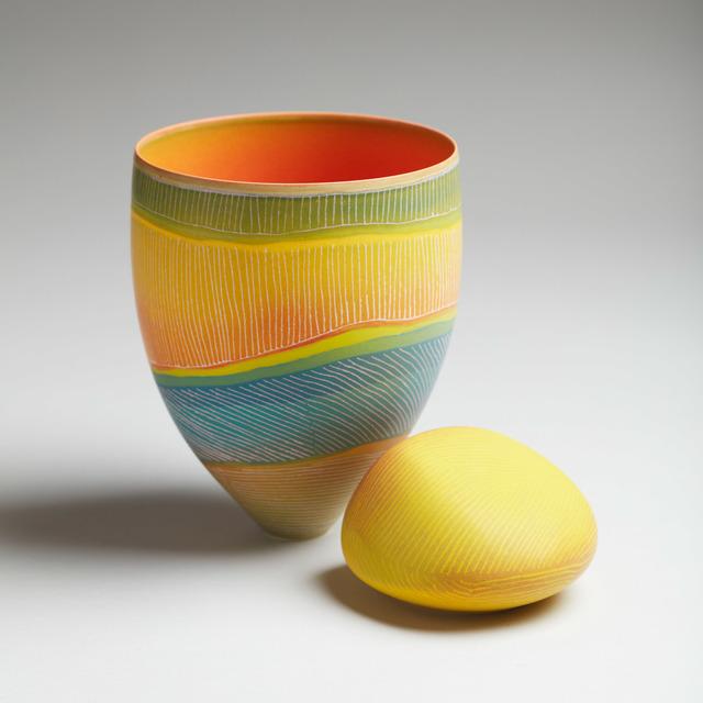 Pippin Drysdale, 'Mulga Parrots', 2020, Sculpture, Porcelain, Adrian Sassoon
