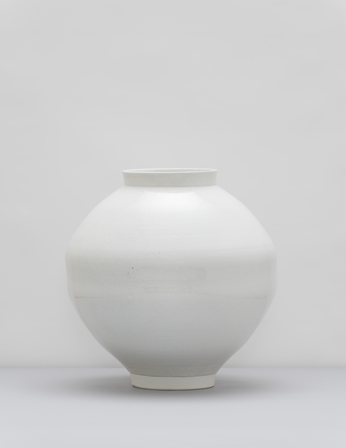 Dong Jun Kim, 'Moon Jar', 2020, Sculpture, White Porcelain, Gallery LVS