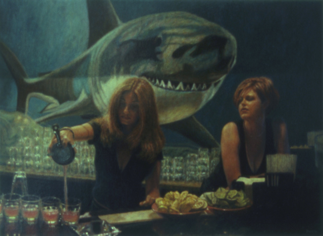 , 'Shark Club #2: Emy's Shots,' 2001, Zenith Gallery