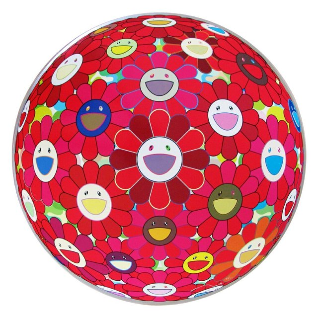 Takashi Murakami, 'Flowerball (3D) Red Cliff ', 2008, Pop Fine Art
