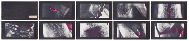 , 'Untitled  / xerox OCÉ (interferido),' 1980, Galeria Jaqueline Martins