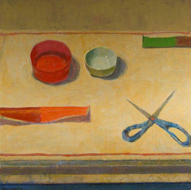 , 'Scissors,' 2018, Thomas Deans Fine Art