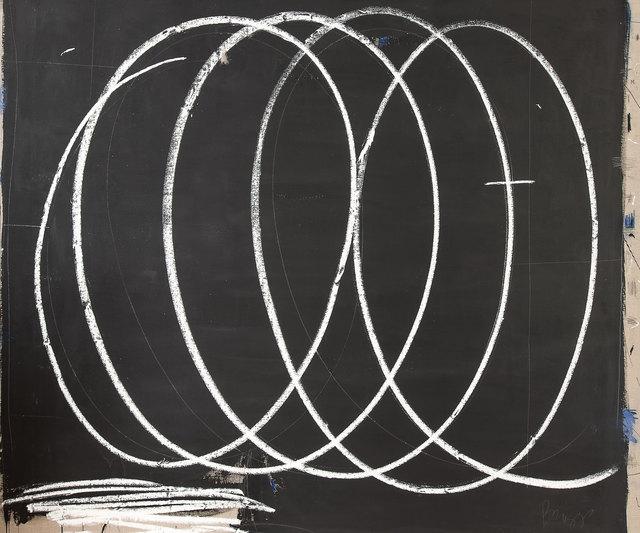 Briggs Edward Solomon, 'Black with Large White Swirls', 2014, ArtStar