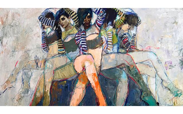 , 'Sirens 7,' 2010-2018, Eisenhauer Gallery