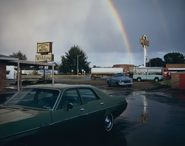 Stephen Shore, 'Horseshoe Bend Motel, Lovell, Wyoming, 1973', Photography, Fujicolor Crystal Archive print, printed 2003., Phillips