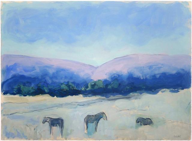 , 'Reinheimer's Horses Dr. #2,' , Gail Severn Gallery