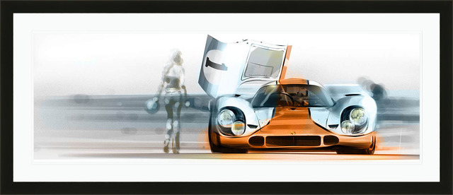 Frederic Dams, 'Porsche 917K | Automotive | Car', 2017, Whyte Fine Art