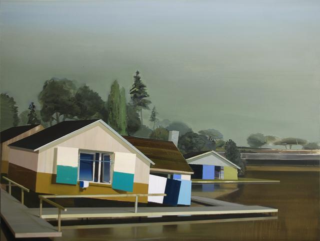 , 'Häuser in Argenteuil,' 2014, Marc Straus