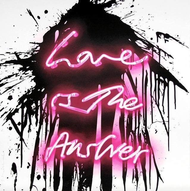 Mr. Brainwash, 'Love is the Answer', 2018, Alpha 137 Gallery