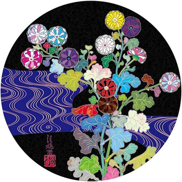 Takashi Murakami, 'Kansei: Wildflowers Glowing in the Night', 2014, Lougher Contemporary