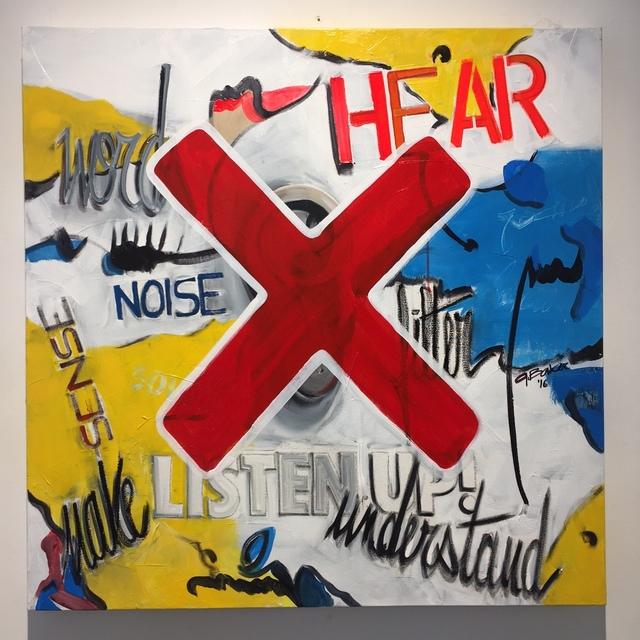 , 'Listen Up ,' 2016, Galerie Vivendi