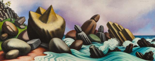 , 'Study for Crashing Surf,' 1989, ACA Galleries