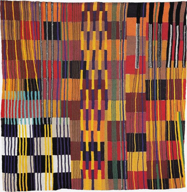 , 'Tejida abstracción (cuadrados),' 2000, Espacio Mínimo