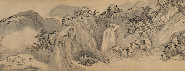, 'Landscape (detail),' 1639, Art Museum of the Chinese University of Hong Kong