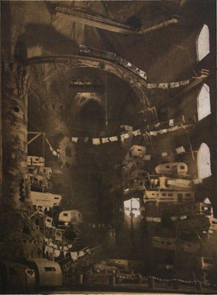 , 'Vaulted Trailer Park (State 1),' 2010, Lesley Heller Gallery