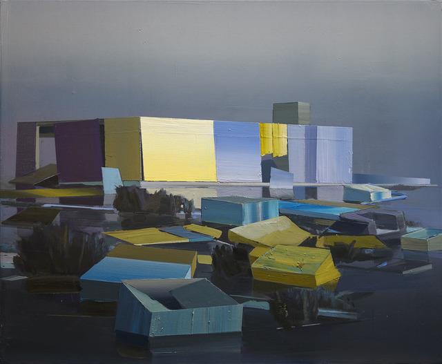 , 'Der blaue See,' 2017, Galerie Jochen Hempel