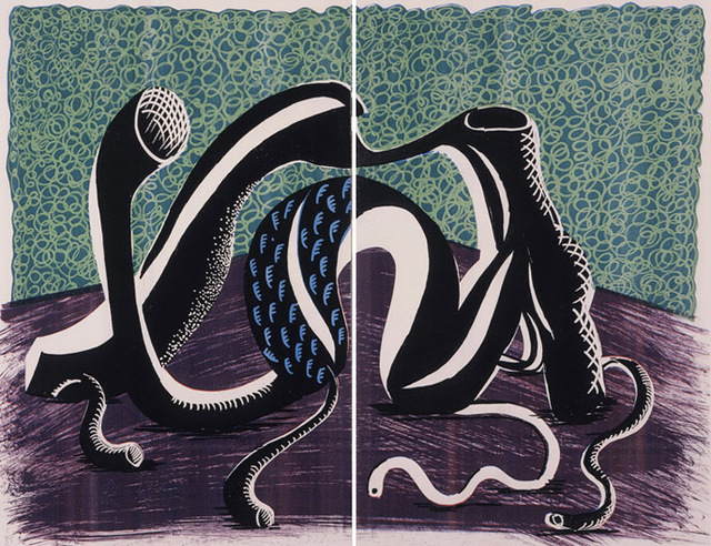 David Hockney, 'Extending, February 1990 ', 1990, Kenneth A. Friedman & Co.