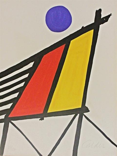 Alexander Calder, 'Blue Sun from Conspiracy: The Artist as Witness', 1971, Gallery Highlights