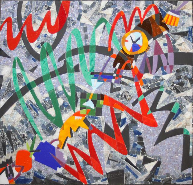 Ugo Nespolo, 'Time Set', 2002, EastCoastArt
