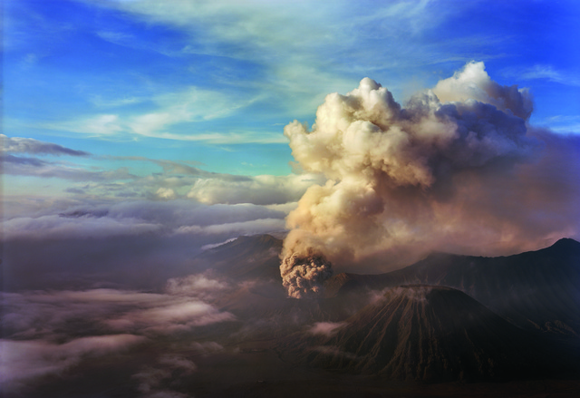 , 'Mount Bromo from Above,' 2012, David Richard Gallery