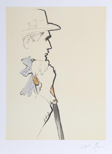 René Gruau, 'Au Champs de Cours', ca. 1990, Print, Lithograph, RoGallery