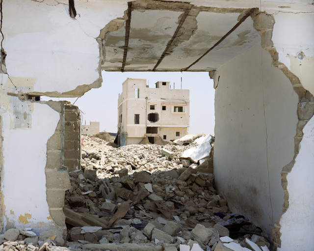 , 'Residential Structure, Gaza, Palestine,' 2004, Galerie Julian Sander