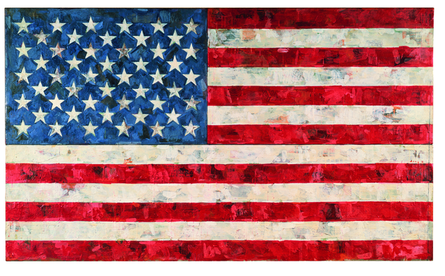 , 'Flag,' 1967, The Broad
